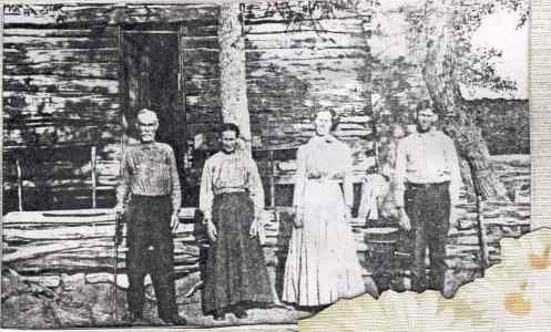 Early Settlers of Burnet County