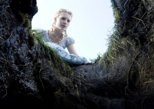 Mia Wasikowska plays Alice in Tim Burton's rendition of Alice in Wonderland
