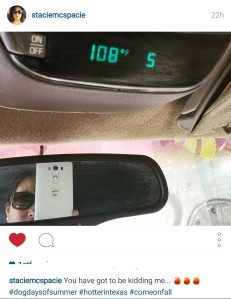 My friend topped us, at 111°F 🔥🔥🔥